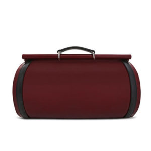 Roberto Tube Duffle Bag Back View- Fine Lines