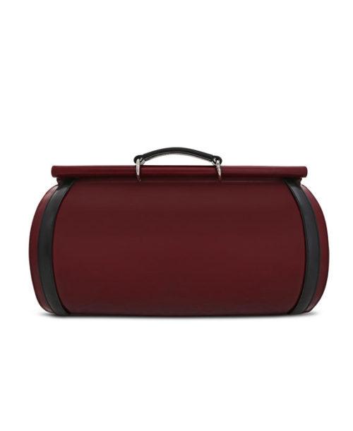 Roberto Tube Duffle Bag Back View- Fine Lines