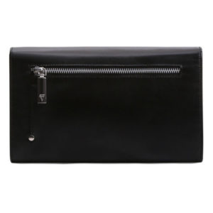 Nicole Clutch Back View: Fine Lines