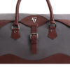 Alberto Duffle Bag Close Up: Fine Lines