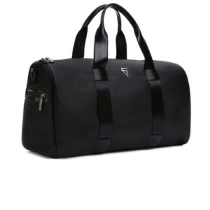 Giovanni Burley Duffle Bag Side View- Fine Lines