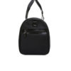 Giovanni Burley Duffle Bag Side Pocket View- Fine Lines
