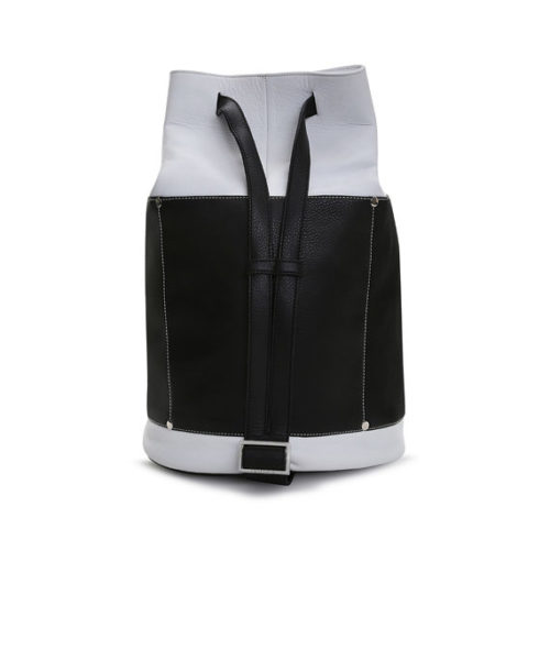 Rogelio Rucksack Bag Back View: Fine Lines