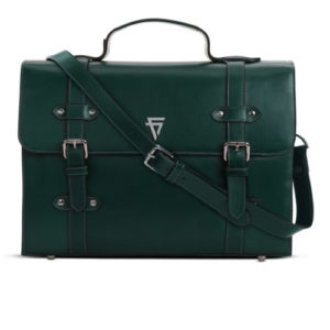 Leandro Workbag Hunter Green By Fine Lines