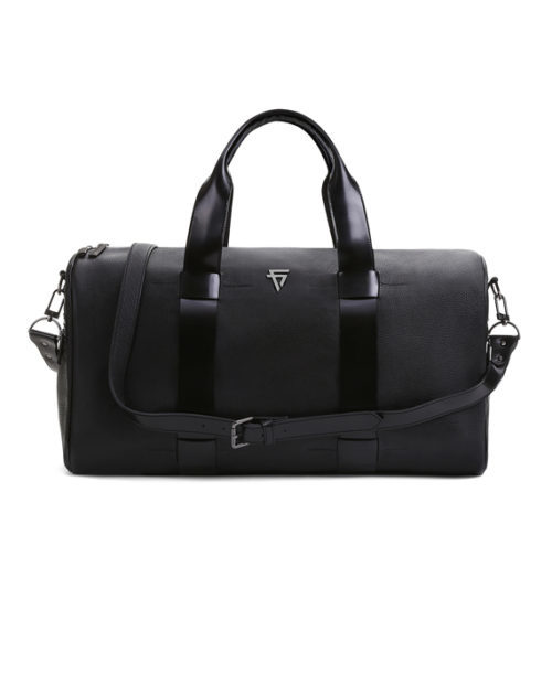 Giovanni Burley Duffle Bag Front View With Strap - Fine Lines