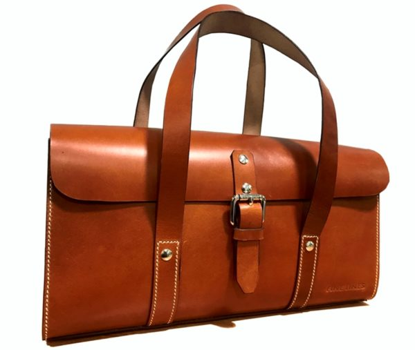 Hailey Leather Handbag Front View