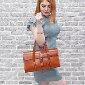 Hailey Leather Hand Bag