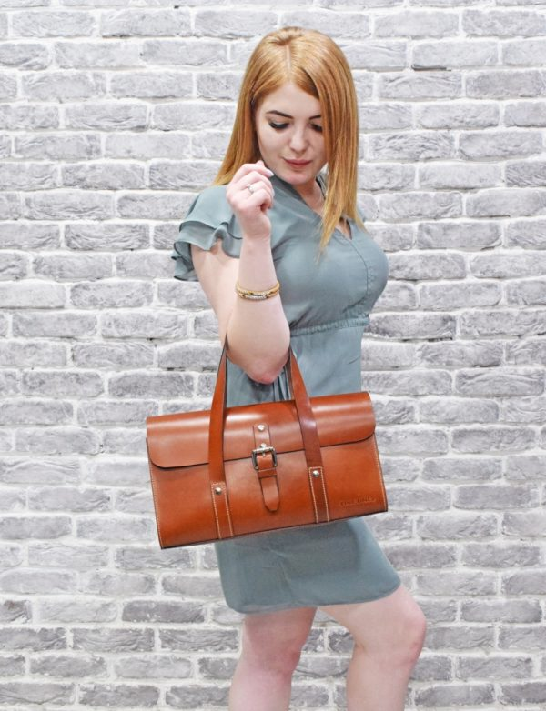 Hailey Leather Hand Bag