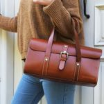 Hailey Leather Handbag.