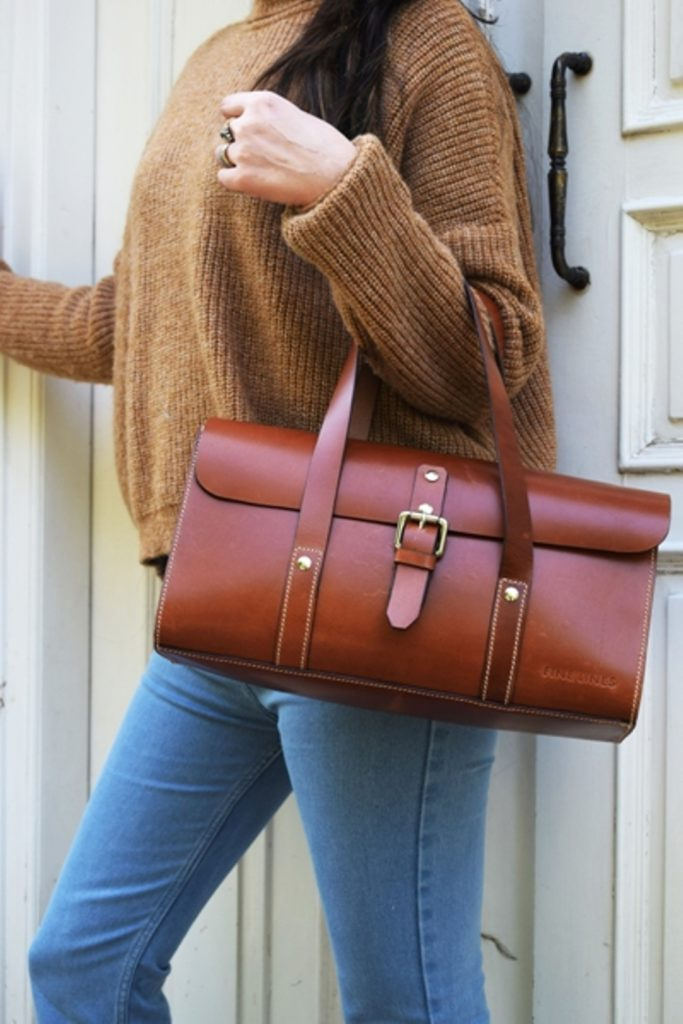 Hailey Leather Handbag.