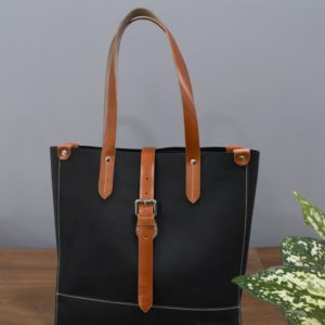 sylvia tote bag by fine lines