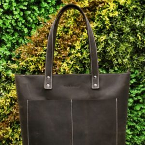 adair tote bag brown