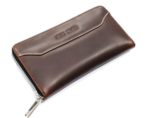 Carissa Leather Clutch